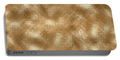 Gold Metal  Portable Battery Charger