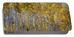 Golden Aspen Grove Portable Battery Charger