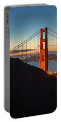 Golden Gate Christmas Glow Portable Battery Charger