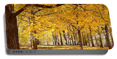 Golden Ginkgo Portable Battery Charger