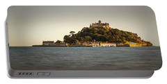 Golden Hour At St Michael's Mount Portable Battery Charger
