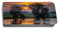 Golden Pond At 36x60 Portable Battery Charger