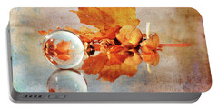 Portable Battery Charger featuring the photograph Golden Tones Of Fall by Randi Grace Nilsberg