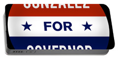 Gonzalez For Governor 2018 Portable Battery Charger