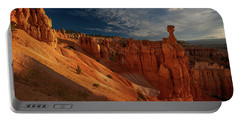 Portable Battery Charger featuring the photograph Good Morning Bryce by Edgars Erglis