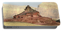 Portable Battery Charger featuring the photograph Good Morning, Timna by Arik Baltinester
