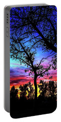 Good Night Leaves In Fall Portable Battery Charger