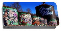 Good Vibes Asheville North Carolina Portable Battery Charger