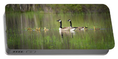 Goose Family #5 Portable Battery Charger