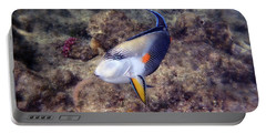 Gorgeous Red Sea Sohal Surgeonfish  Portable Battery Charger