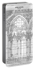 Gothic Arches Portable Battery Charger