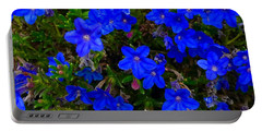 Grace In Blue Portable Battery Charger