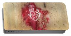 Grafitti Heart Portable Battery Charger