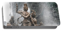 Grand Buddha Fountain Portable Battery Charger