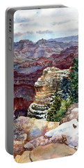 Grand Canyon Winter Day Portable Battery Charger