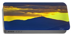 Grandmother Mountain Sunset Portable Battery Charger