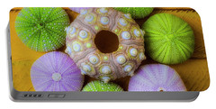 Graphic Sea Urchins Portable Battery Charger