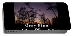 Gray Pine Portable Battery Charger