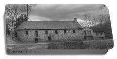 Grey Skies Over Fieldstone - Waterloo Village Portable Battery Charger