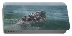 Gray Whale In Bahia Magdalena Portable Battery Charger