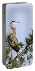 Great Blue Heron 2019-13 Portable Battery Charger