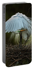 Great Egret Beauty Portable Battery Charger
