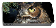 Great Horned Owl 10181801 Portable Battery Charger