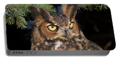 Great Horned Owl 10181802 Portable Battery Charger