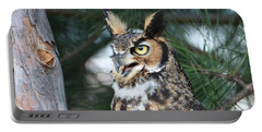 Great Horned Owl 5151801 Portable Battery Charger