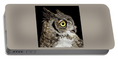 Great-horned Owl Portable Battery Charger