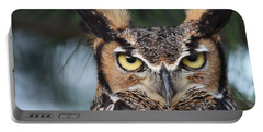 Great Horned Owl Eyes 51518 Portable Battery Charger