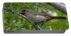 Greater Antillean Bullfinch Portable Battery Charger