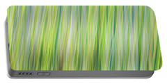 Green Grasses Portable Battery Charger