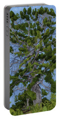 Green Tree, Hot Day Portable Battery Charger