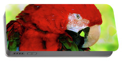 Green-winged Macaw Portable Battery Charger