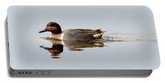 Green-winged Teal Drake Portable Battery Charger