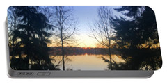 Greenlake Dawn Evergreens Portable Battery Charger