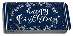 Greeting Card Happy Birthday Portable Battery Charger