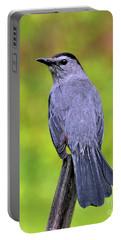 Grey Catbird Portable Battery Charger