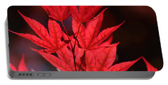 Guardsman Red Japanese Maple Leaves Portable Battery Charger