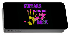 Guitars Love You Back Portable Battery Charger
