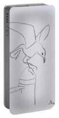 Gull On Pier Portable Battery Charger