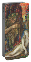 Gustave Moreau -paris, 1826-1898-. Galatea -ca. 1896-. Ink, Tempera, Gouache And Watercolour On C... Portable Battery Charger