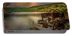 Gwynant Lake Old Boat House Portable Battery Charger