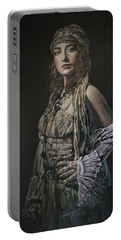 Gypsy Portrait Portable Battery Charger