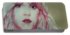 Gypsy - Stevie Nicks - Resize Portable Battery Charger