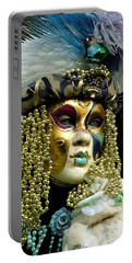 Portable Battery Charger featuring the photograph Hair Of Gold Beads by Donna Corless
