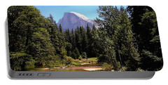 Half Dome From Ahwanee Bridge - Yosemite Portable Battery Charger