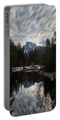 Half Dome Reflection Portable Battery Charger