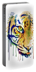 Half Faced Tiger Portable Battery Charger